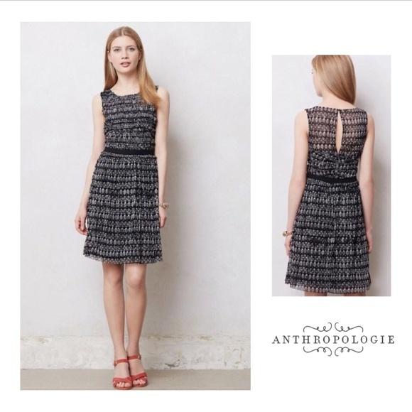 432f5c60effa Anthropologie Dresses & Skirts - ANTHROPOLOGIE Postmark Swiss Dot Dress  Medium EUC